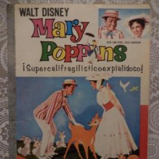 Tebeos: MARY POPPINS COLECCION DUMBO WALT DISNEY . Lote 73537863
