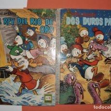 Tebeos: DUMBO ERSA Nº 15 EL REY DEL RIO DE ORO MUY BUEN ESTADO Nº 16 DOS DUROS PAVOS 2 COMICS. Lote 75476871