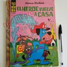 Tebeos: TELE HISTORIETA Nº 125 EL HÉROE VUELVE A CASA - HANNA BARBERA CÓMIC AÑOS 70 LOS PICAPIEDRA OSO YOGUI. Lote 82757428