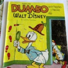 Tebeos: DUMBO WALT DISNEY AÑO 1947 N 2. Lote 83160916