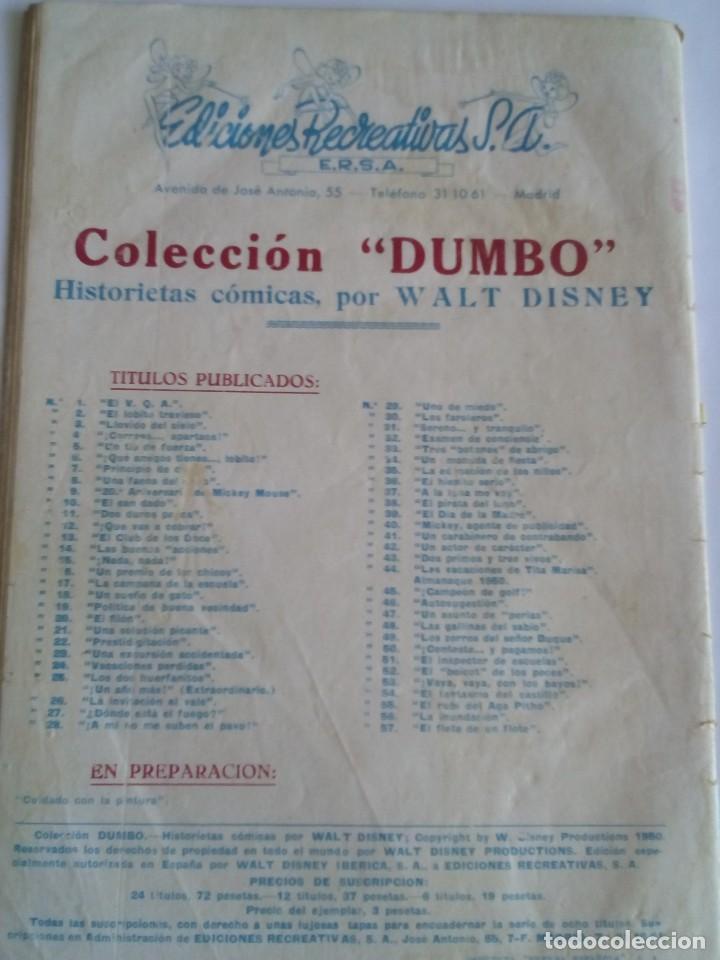 Tebeos: DUMBO N 57 AÑO 1947 - Foto 2 - 83166240