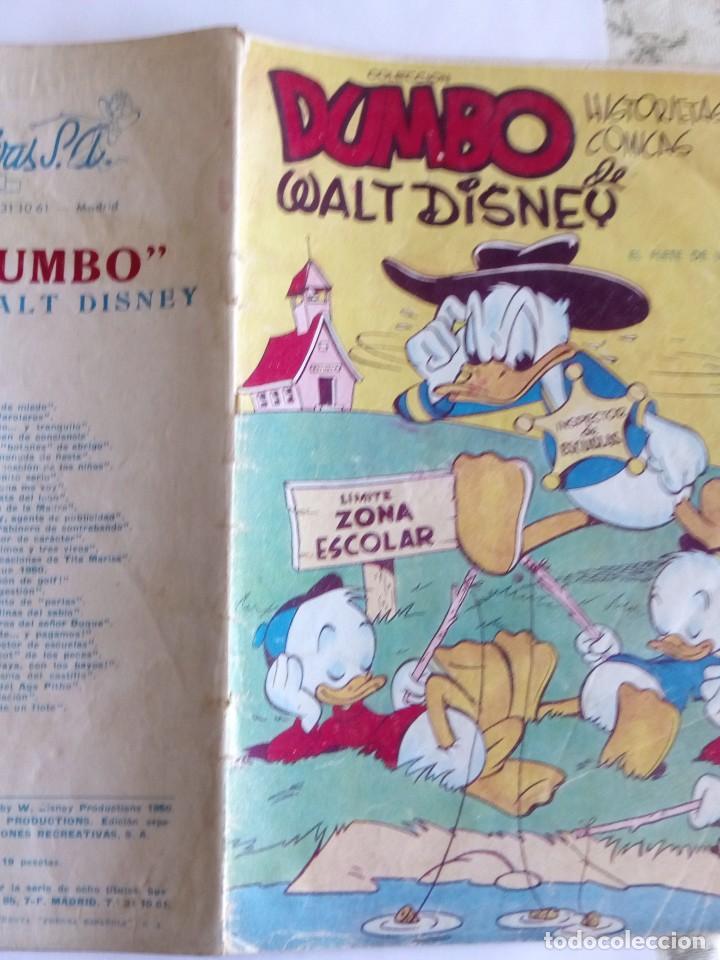 Tebeos: DUMBO N 57 AÑO 1947 - Foto 3 - 83166240