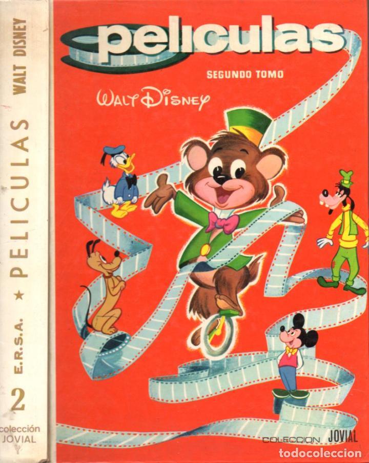 PELÍCULAS WALT DISNEY JOVIAL Nº 2 (ERSA, 1985) COMO NUEVO (Tebeos y Comics - Ersa)