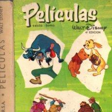Tebeos: PELÍCULAS WALT DISNEY JOVIAL Nº VI (ERSA, 1969) PRIMERA EDICIÓN. Lote 83544868