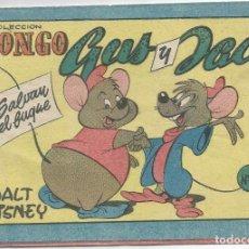 Tebeos: COLECCION BONGO GUS Y JAC Nº 9 DE WALT DISNEY . Lote 83710912