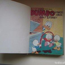 Tebeos: DUMBO 1 ª EDICIÓN (1953,ERSA) LOTE : 2 TOMOS ENCUADERNADOS (36 NÚMEROS 124-481). Lote 84693328