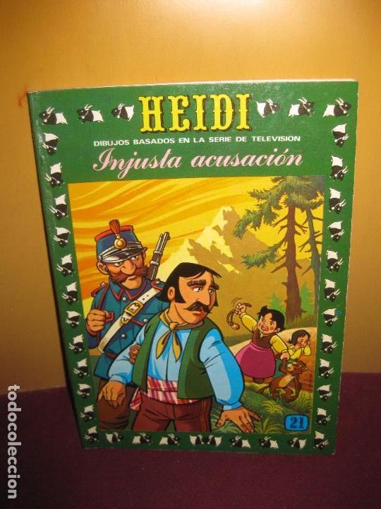 HEIDI Nº 21. INJUSTA ACUSACION. EDICIONES RECREATIVAS (ERSA) 1977 (Tebeos y Comics - Ersa)