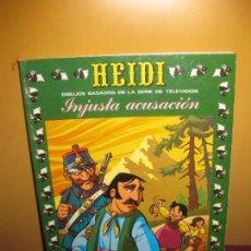 Tebeos: HEIDI Nº 21. INJUSTA ACUSACION. EDICIONES RECREATIVAS (ERSA) 1977. Lote 86620960