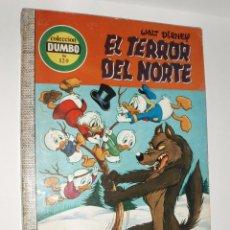BDs: COMIC DUMBO ERSA Nº 120 EL TERROR DEL NORTE. Lote 88865608