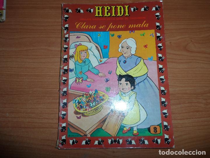 HEIDI Nº 8 EDICIONES RECREATIVAS ERSA 1975 (Tebeos y Comics - Ersa)