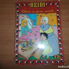 Tebeos: HEIDI Nº 8 EDICIONES RECREATIVAS ERSA 1975 . Lote 89406840