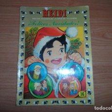 Tebeos: HEIDI Nº 16 EDICIONES RECREATIVAS ERSA 1975 . Lote 89406860