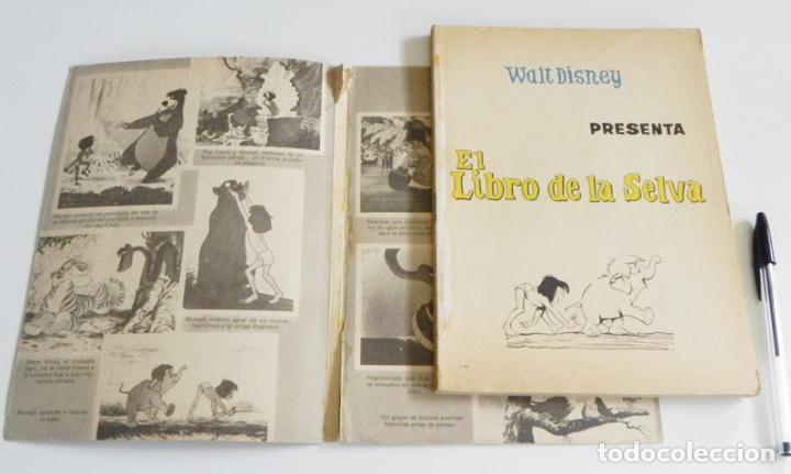 Tebeos: EL LIBRO DE LA SELVA - CÓMIC ERSA - AÑOS 70 ESPAÑA - COL. DUMBO 62 - WALT DISNEY - MOWGLI NATURALEZA - Foto 3 - 90401460