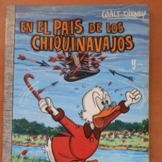 Tebeos: COLECCION DUMBO Nº 50. EN EL PAÍS DE LOS CHIQUINAVAJOS. AÑO 1969. EDICIONES ERSA. WALT DISNEY. Lote 91484875