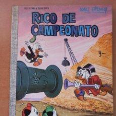 Tebeos: COLECCION DUMBO Nº 60. RICO DE CAMPEONATO. AÑO 1971. EDICIONES ERSA. WALT DISNEY. Lote 91486825