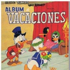 Tebeos: ALBUM DE VACACIONES DUMBO. Lote 91577200