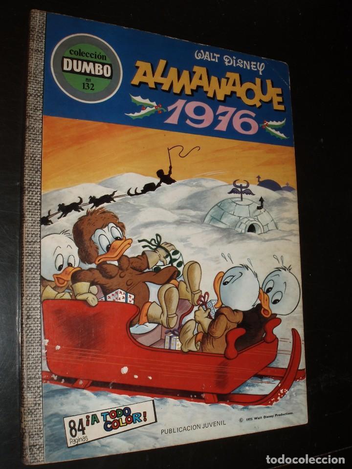 COMIC Nº 132 DUMBO ERSA ALMANAQUE 1976 (Tebeos y Comics - Ersa)