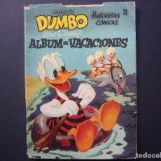 Tebeos: DUMBO ALBUM DE VACACIONES ( ERSA, 1953 ). Lote 94239370