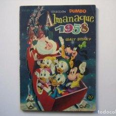 Tebeos: DUMBO ALMANAQUE Nº18 ( EDICIONES RECREATIVAS,1958 ). Lote 94239570