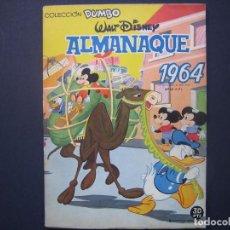Tebeos: DUMBO ALMANAQUE Nº 36 ( EDICIONES RECREATIVAS ,1964). Lote 94241615