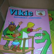 Tebeos: VIKIE EL VIKINGO DE LA TELE. Nº 75 BOTADURA JABONOSA. EDICIONES RECREATIVAS (ERSA), AÑO 1984.. Lote 95494387