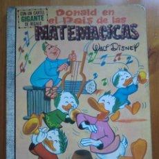 Tebeos: CÓMIC DONALD EN EL PAÍS DE LAS MATEMÁTICAS (1971) EDICIONES RECREATIVAS ERSA. COLECCIÓN DUMBO Nº 6. Lote 97171919