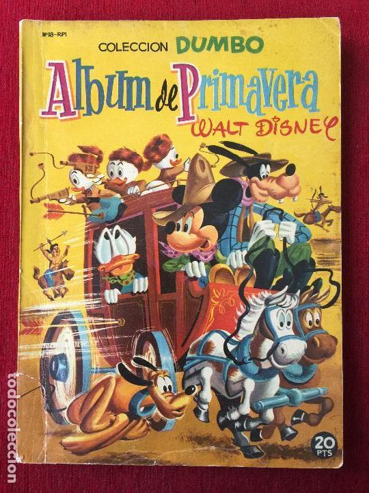 COLECCION DUMBO. ALBUM DE PRIMAVERA 1958. (Tebeos y Comics - Ersa)