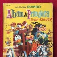 Tebeos: COLECCION DUMBO. ALBUM DE PRIMAVERA 1958.. Lote 98057123