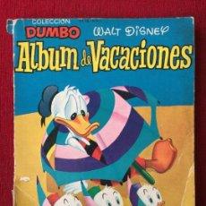 Tebeos: COLECCION DUMBO. ALBUM DE VACACIONES AÑO 1957.. Lote 98057263