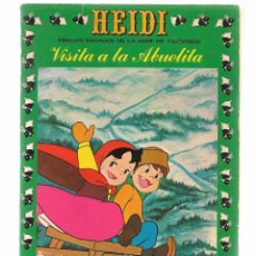 Tebeos: HEIDI. Nº 3. VISITA A LA ABUELITA. EDICIONES RECREATIVA 1976. (B/59). Lote 98369463
