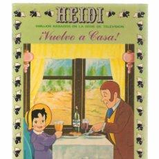 Tebeos: HEIDI. Nº 9. ¡VUELVO A CASA!. EDICIONES RECREATIVA 1976. (B/59). Lote 98369559