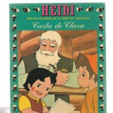 Tebeos: HEIDI. Nº 10. CARTA DE CLARA. EDICIONES RECREATIVA 1976. (B/59). Lote 98369611