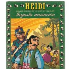Tebeos: HEIDI. Nº 21. INJUSTA ACUSACIÓN. EDICIONES RECREATIVA 1976. (B/59). Lote 98369803