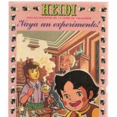 Tebeos: HEIDI. Nº 22. ¡VAYA EXPERIMENTO! .EDICIONES RECREATIVA 1976. (B/59). Lote 98369883