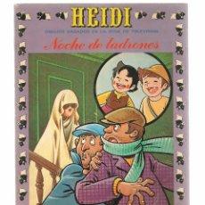 Tebeos: HEIDI. Nº 27. NOCHE DE LADRONES. EDICIONES RECREATIVA 1976. (B/59). Lote 98369911