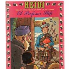 Tebeos: HEIDI. Nº 32. EL PROFESOR SLIP. EDICIONES RECREATIVA 1976. (B/59). Lote 98369927