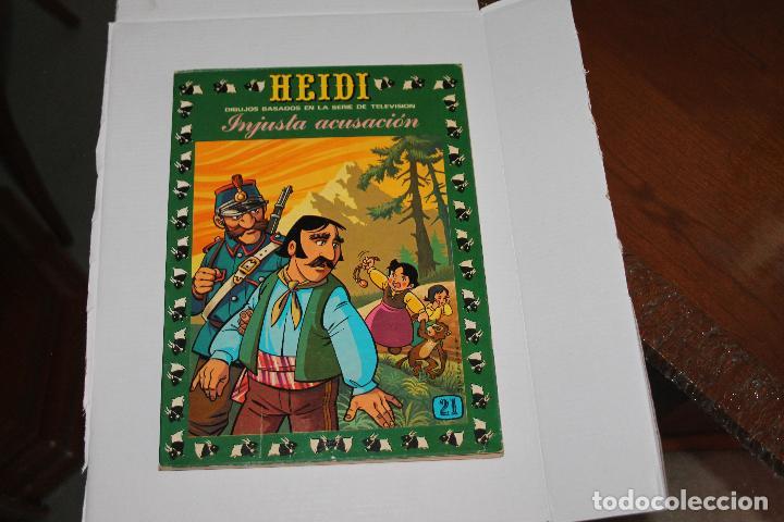 HEIDI Nº 21, EDITORIAL ERSA (Tebeos y Comics - Ersa)