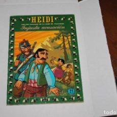 Tebeos: HEIDI Nº 21, EDITORIAL ERSA. Lote 98673403