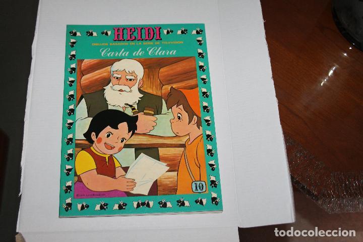 HEIDI Nº 10, EDITORIAL ERSA (Tebeos y Comics - Ersa)
