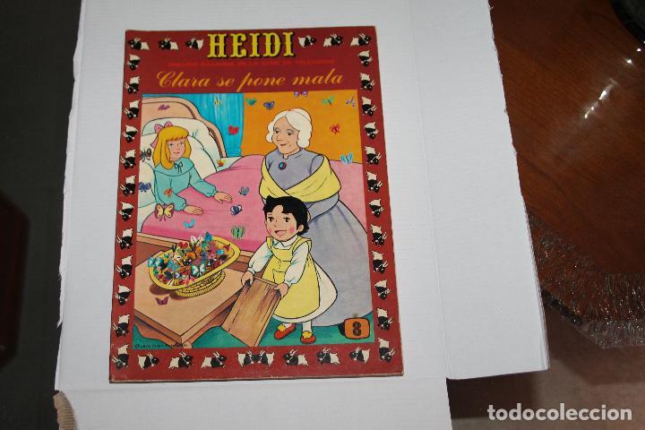 HEIDI Nº 8, EDITORIAL ERSA (Tebeos y Comics - Ersa)