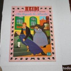 Tebeos: HEIDI Nº 7, EDITORIAL ERSA. Lote 98674031