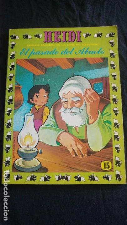 HEIDI Nº 15 EL ESTADO ES BUENO (Tebeos y Comics - Ersa)