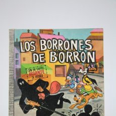 Tebeos: CÓMIC WALT DISNEY / LOS BORRONES DE BORRON - Nº 21 - EDITORIAL ERSA - AÑO 1972. Lote 100149263