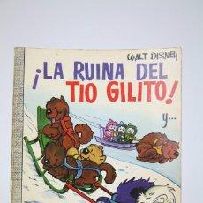 Tebeos: CÓMIC WALT DISNEY / LA RUINA DEL TIO GILITO - Nº 26 - EDITORIAL ERSA - AÑO 1967. Lote 100149355