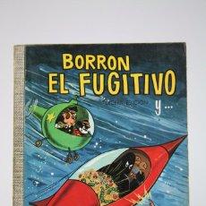 Tebeos: CÓMIC WALT DISNEY / BORRON EL FUGITIVO - Nº 30 - EDITORIAL ERSA - AÑO 1970. Lote 100149683