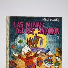Tebeos: CÓMIC WALT DISNEY / LAS MINAS DEL REY SALOMON - Nº 37 - EDITORIAL ERSA - AÑO 1971. Lote 100149819