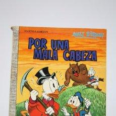 Tebeos: CÓMIC WALT DISNEY / POR UNA MALA CABEZAR - Nº 52 - EDITORIAL ERSA - AÑO 1971. Lote 100150167