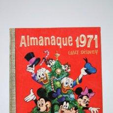 Tebeos: CÓMIC WALT DISNEY / ALMANAQUE 1971 - Nº 71 - EDITORIAL ERSA - AÑO 1970. Lote 100150303