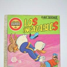 Tebeos: CÓMIC WALT DISNEY / LOS INCAZABLES- Nº 103 - EDITORIAL ERSA - AÑO 1973. Lote 100150587