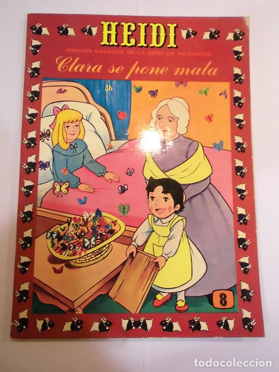 HEIDI - NUM 8 - ERSA- 1976 (Tebeos y Comics - Ersa)